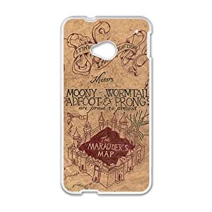 Happy Harry Potter map Phone Case for HTC One M7