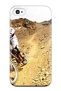 Cute Tpu Donald P Reed Downhill Bike Sports S Case Cover For Iphone 4/4s