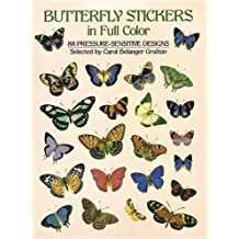 Butterfly Stickers in Full Color