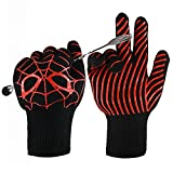 BBQ Gloves, Hongmai Heavy Duty Grill Gloves, Extreme - Best Reviews Guide