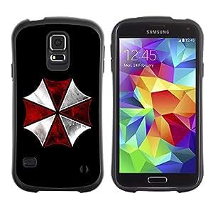 LASTONE PHONE CASE / Suave Silicona Caso Carcasa de Caucho Funda para Samsung Galaxy S5 SM-G900 / Umbrella Corp Evil