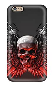 Hot New The Expendables Weapons Case Cover For Iphone 6 With Perfect Design
