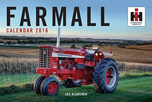 Farmall Tractor Calendar 2016