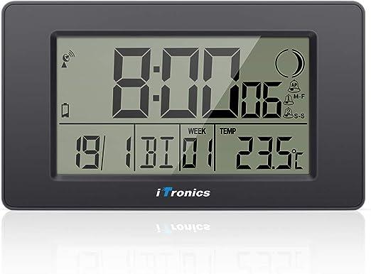iTronics Reloj de Radio Digital de Pared con Indicador de ...