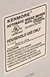 New Kneading Paddle Fits Kenmore Model KTR2205SPR