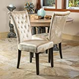 Christopher Knight Home 238617 Venetian Dining Chair (Set of 2), Champagne Review