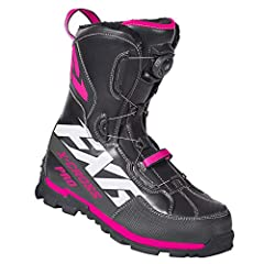 The X-Cross Pro BOA Boot has a single BOA M3 Reel. New features include 2-Piece form-fitting tongue construction for Positive Fit and Maximum Comfort, and FXR high traction outsole with toe and heel kick. With its 600g of insulation it is rat...