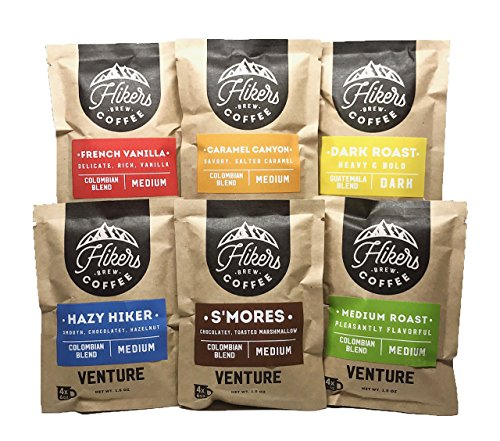 Hikers Brew Coffee - 6-Pack Sampler