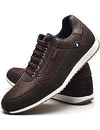 Sapatênis Sapato Casual Masculino Com Cadarço JUILLI R1100DB