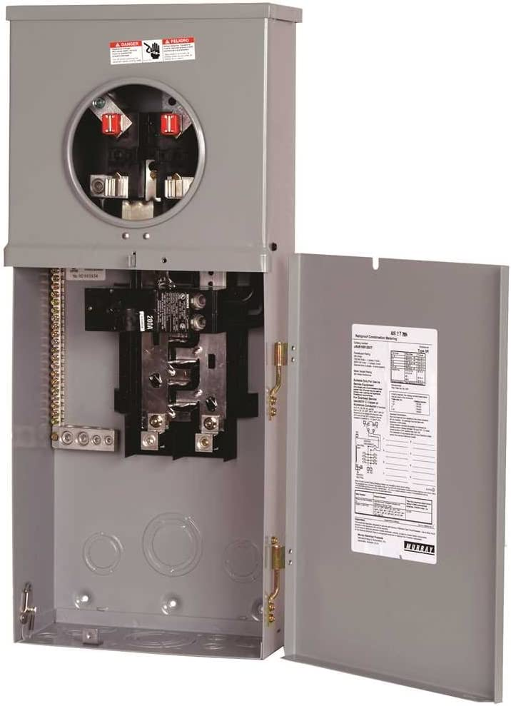 Siemens Gidds 660875 660875 Outdoor Main Breaker Metered Service Equipment Panel 200amp Amazon Com