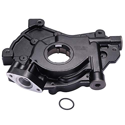(ECCPP Engine Oil Pump Fit for 1997-2004 Ford E F, 2000-2003 Ford Excursion, 1997-2004 Ford Expedition, 2002-2004 Ford Explore, 1996-2003 Ford Mustang, Compatible for 5L3Z-6600-AA Pump)