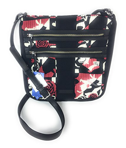 Vera Bradley Disney Parks Alice in Wonderland Hipster Crossbody Painting the Roses