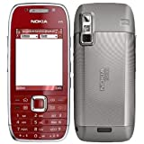 NOKIA E75 RED 50MB QWERTY UK FACTORY UNLOCKED 3G 2G GSM CELL PHONE