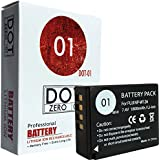 DOT-01 Brand Fujifilm X-H1 Battery for Fujifilm X-H1 Mirrorless and Fujifilm X-H1 Battery Bundle for Fujifilm NPW126 NP-W126