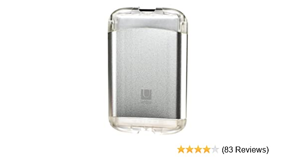 Amazon.com: Umbra Mens Metallic Aluminum Bungee Cord Credit Card Case Wallet (Silver): Office Products