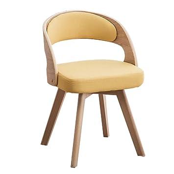 ZHILIANR Chaise De Salon En Bois Massif Style Nordique Moderne Et Salle