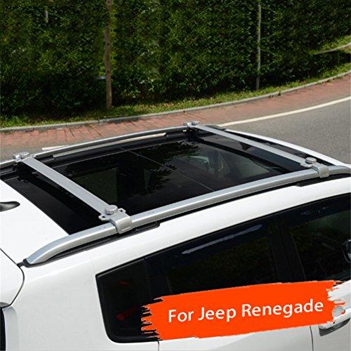 Vesul Baggage Luggage Holder Carrier Roof Rack Rails Cross Bars Crossbars for Jeep Renegade 2015 2016 2017 2018 -  Vesul-15-18-Renegd-cro bar