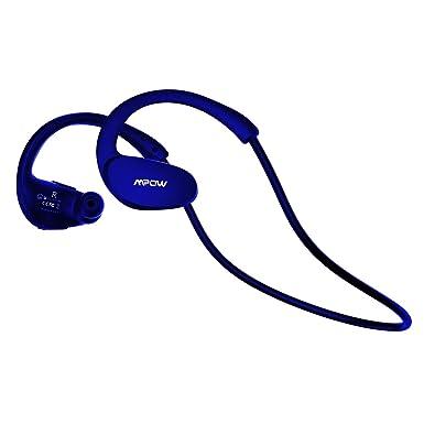 Mpow Auriculares Bluetooth inalámbrico auriculares deporte running auriculares, upgraded IPX5 A prueba de salpicaduras,