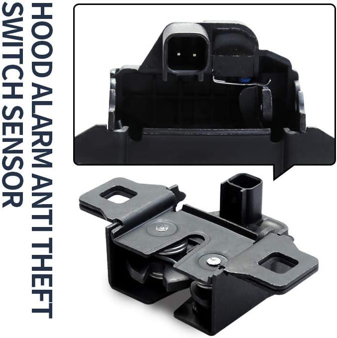 Hood Alarm Anti-Theft Switch Sensor Latch Release Switch for Land Rover LR2 LR3 LR4 and Range Rover Sport LR065340 LR041431