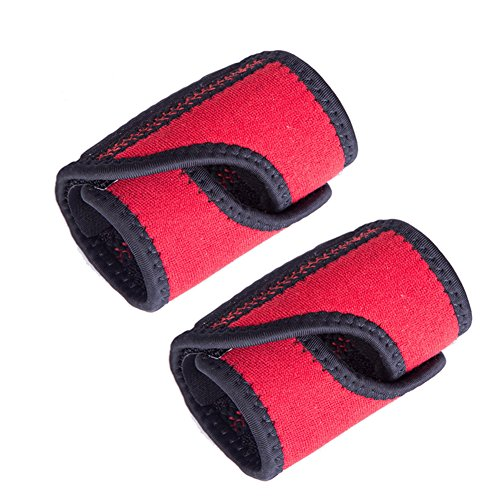 Ztl 2pcs/Set Wrist Support Wristband Double Spring Wrist Wrap Breathable for Sports, Arthritis, Repetitive Strain Injury and Carpal Tunnel -