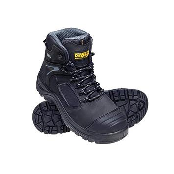 DEWALT DEWEDMONBL12 Black S5 Rubber//Neoprene Safety Wellingtons UK 12 Euro 47