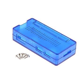 perfk para Raspberry Pi Zero 1.3/W Carcasa de plástico con ...