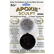 Aves Apoxie Sculpt Natural 2-Part Self-Hardening Modeling Compound 1/4 lb