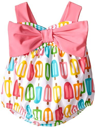 Mud Pie Baby Popsicle Swimsuit, Multi, 9-12 Months by Mud Pie