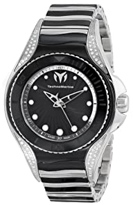 "TechnoMarine Women's 213004 ""Blue Manta"" Stainless Steel Watch"