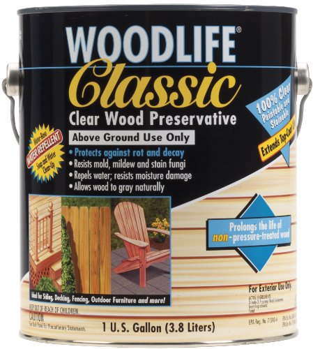 Deck Sealer - Rust-Oleum 00903 Woodlife Classic, 1-Gallon, Clear