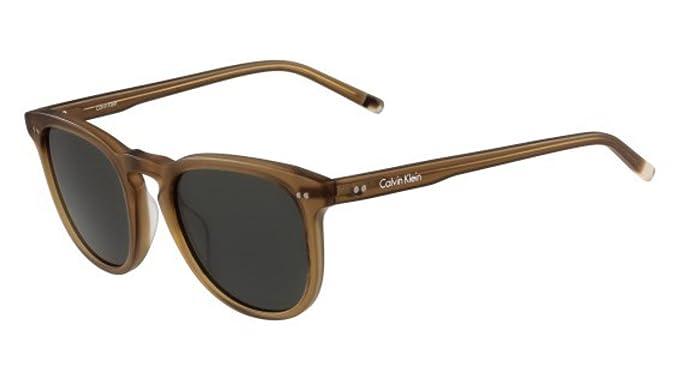 Sunglasses CK 4321 S 204 MATTE LIGHT BROWN at Amazon Mens ...