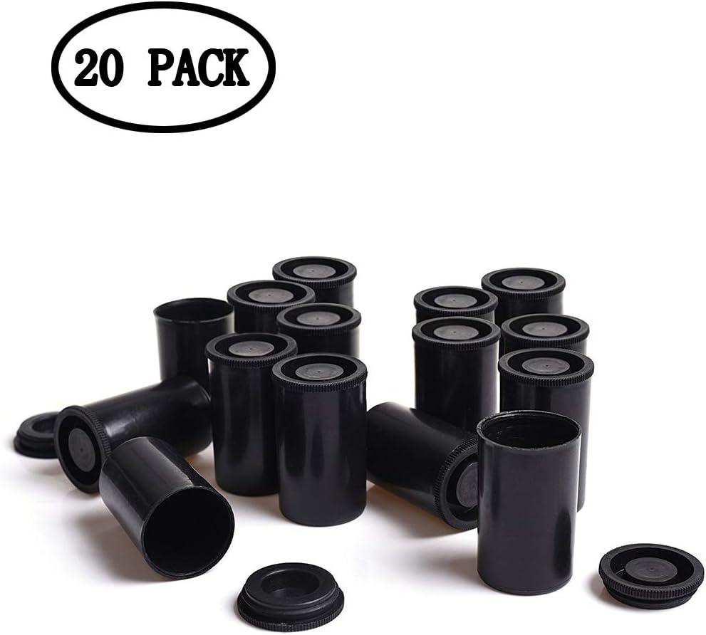 KAIMENG Cilindros de pel/ícula para pel/ícula de 35 mm 20 Piezas