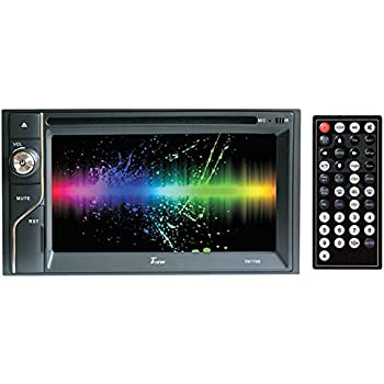 51sssEZSezL._SL500_AC_SS350_ amazon com tview d62tsb 6 2 inch double din touch screen with  at pacquiaovsvargaslive.co