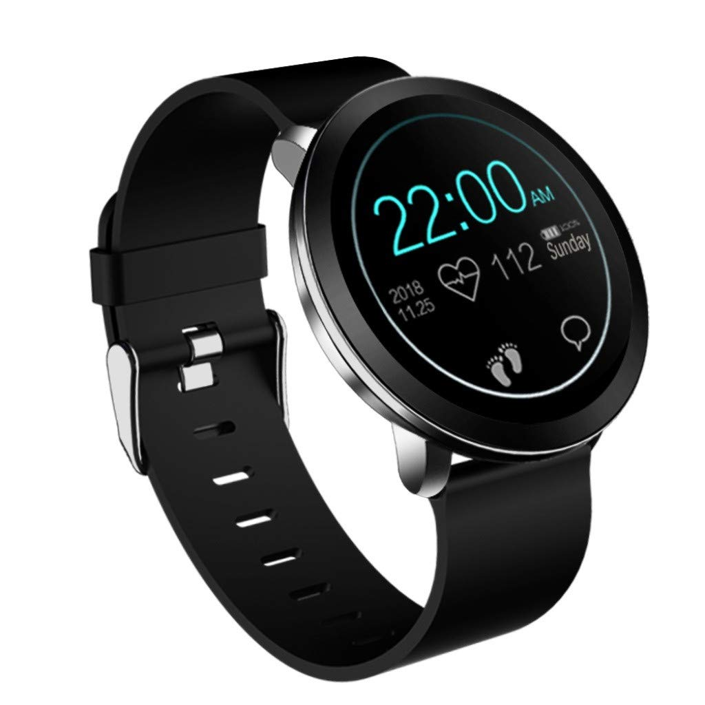 L8 Color Screen Women Blood Pressure Heart Rate Monitor Smart Watch Fitness