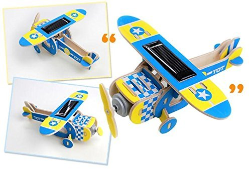 Sunnytech1pc Energy Aircraft Educational Wooden product image