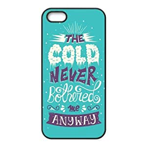 Let it Go Design Solid Rubber Customized Cover Case for iPhone 5 5s 5s-linda389