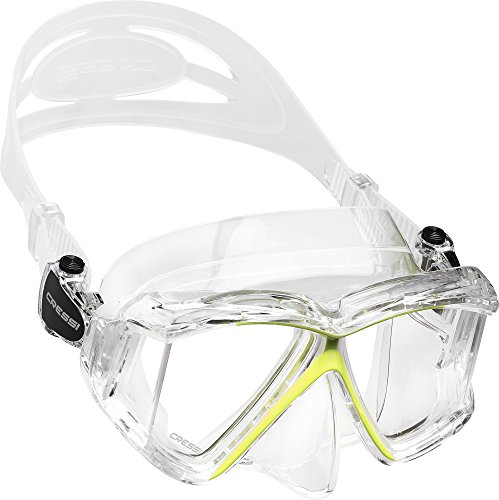 Cressi Pano 4, clear/yellow