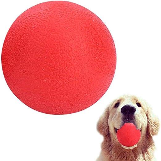leegoal Pelotas de Perro Juguetes, Bola de Goma Maciza Natural, Interactivo Fetch & Play, Regalo para Mascotas pequeñas y Grandes Perros, molares de Limpieza Dientes: Amazon.es: Productos para mascotas