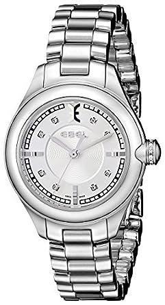 Ebel Damen-Armbanduhr 1216092 Onde Edelstahl mit Diamant Marker von Ebel