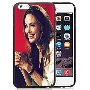 New Personalized Custom Designed For iPhone 6 Plus 5.5 Inch Phone Case For Angelina Jolie Smile Phone Case Cover