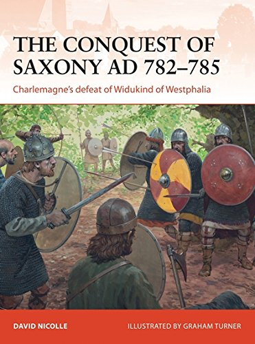 Saxony Series - The Conquest of Saxony AD 782–785: Charlemagne's defeat of Widukind of Westphalia (Campaign)