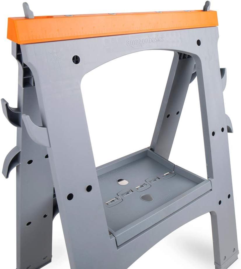 Basics confezione da 2 Cavalletto pieghevole 408 kg