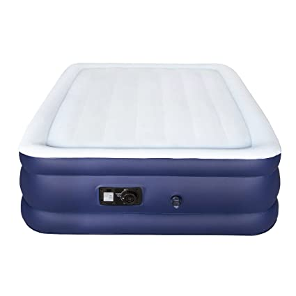 air mattress storage bag Amazon.com: Sable Air Bed with Built in Electric Pump, Raised Blow  air mattress storage bag