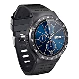 3G Smart Watch Cell Phone, Bluetooth Wristwatch with Android 5.1 OS Quad Core 8GB, Support WiFi GPS...