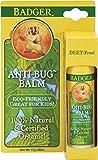 Badger Balm Anti-bug Travel Stick .60 Oz Hang Tag Box, 0.6 Ounce