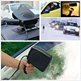 2in1 Car Portable Ceramic Heating Cooling Dry
