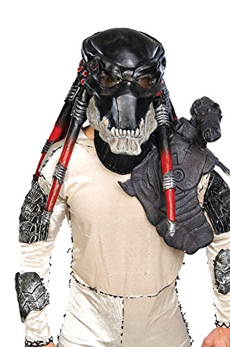 [Scary-masks Predator Deluxe Latex Mask Halloween Costume - Most Adults] (Predator Deluxe Mask)