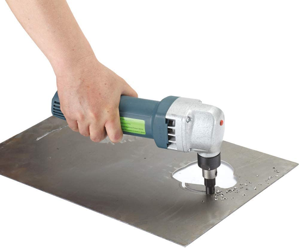ZFE 380W Metal Nibbler for Cutting Stainless Steel Aluminium Plastic