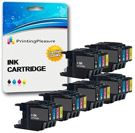 10 Compatibles LC1220 LC1240 Cartuchos de Tinta para Brother MFC ...