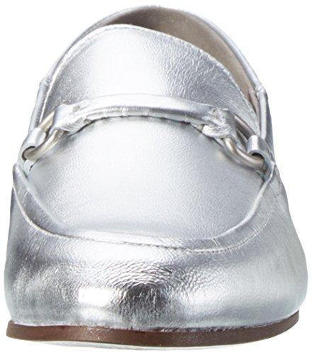 Hudson London Arianna, Mocasines para Mujer Plateado (Silver)